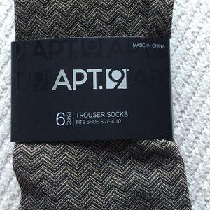 6 pair New trouser socks